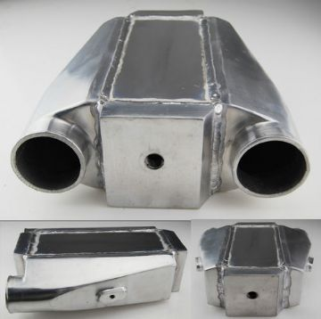 "UNIVERSAL INTERCOOLER 12""X11.5""X4.5"" AIR TO WATER  £86.99"